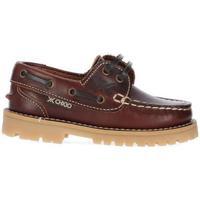 Zapatos Niño Zapatos náuticos Chika10 Kids Leather NAUTIC KIDS 01 Coñac/Conac