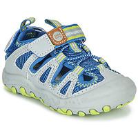 Zapatos Niños Sandalias de deporte Gioseppo MEXICALI Gris / Azul