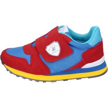 Zapatos Niño Deportivas Moda Beverly Hills Polo Club BM767 Rojo