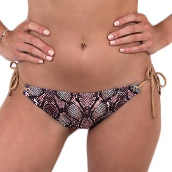 textil Mujer Bañador por piezas LPB Woman 005BAS / SNAKE ROSE Rosa