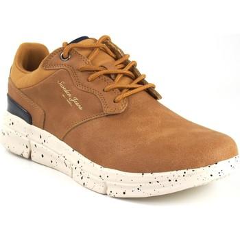 Zapatos Hombre Derbie Sweden Kle Zapato caballero  203533 tostado Marrón
