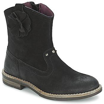 Zapatos Niña Botas de caña baja Mod'8 NOLA Negro