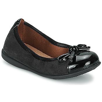 Zapatos Niña Bailarinas-manoletinas Citrouille et Compagnie ROCIA Negro