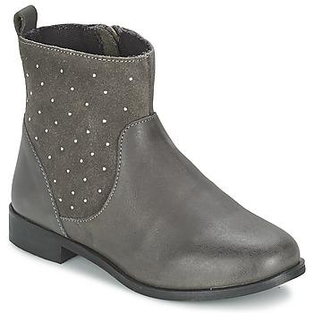 Zapatos Niña Botas de caña baja Citrouille et Compagnie BANMAL Gris