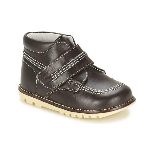Zapatos Niño Botas de caña baja Citrouille et Compagnie MELIN Marrón