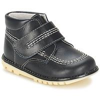 Zapatos Niño Botas de caña baja Citrouille et Compagnie MELIN Marino