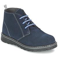 Zapatos Niño Botas de caña baja Citrouille et Compagnie LEQUIN Azul