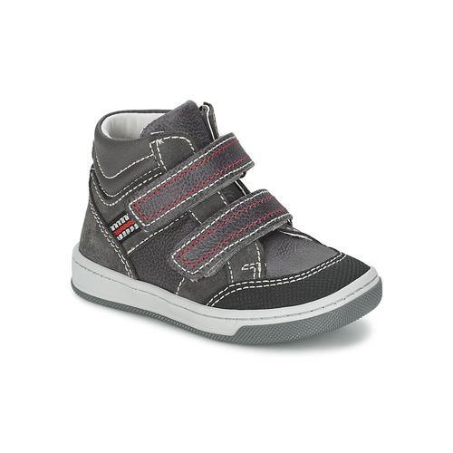 Zapatos Niño Zapatillas altas Citrouille et Compagnie MONI Gris