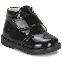 Zapatos Niña Botas de caña baja Citrouille et Compagnie MERLE Negro