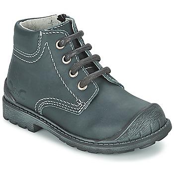 Zapatos Niño Botas de caña baja Citrouille et Compagnie BRINDIL Marino