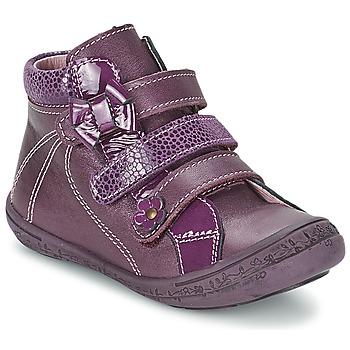 Zapatos Niña Botas de caña baja Citrouille et Compagnie FALIE Violeta