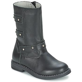 Zapatos Niña Botas urbanas Citrouille et Compagnie ELZA Negro