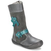 Zapatos Niña Botas urbanas Citrouille et Compagnie RINDAR Gris