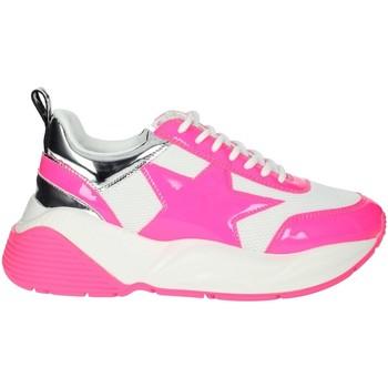 Zapatos Mujer Zapatillas bajas Shop Art SA020044FX Blanco/Fucsia