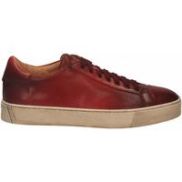 Zapatos Hombre Derbie Santoni DERBY 7 OCC. FORGOOSE rosso