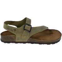 Zapatos Mujer Sandalias Interbios Sandalias  7162 Kaki Verde
