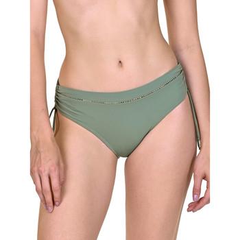 textil Mujer Bañador por piezas Lisca Ancona  Camisetas de traje baño lateral corridas Verde Oscuro