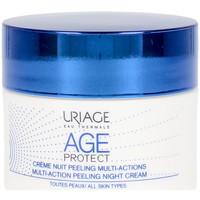 Belleza Mujer Antiedad & antiarrugas Uriage Age Protect Multi-action Peeling Night Cream