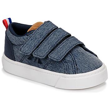 Zapatos Niños Zapatillas bajas Le Coq Sportif VERDON CLASSIC Azul
