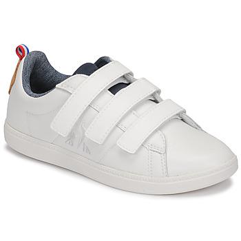 Zapatos Niños Zapatillas bajas Le Coq Sportif COURTCLASSIC PS Blanco
