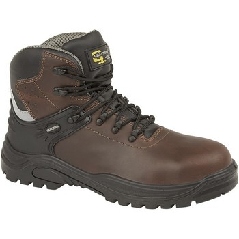 Zapatos Hombre Botas Grafters  Marrón Oscuro
