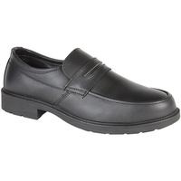 Zapatos Hombre Mocasín Grafters  Negro