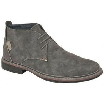 Zapatos Hombre Botas de caña baja Goor  Gris