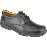 Zapatos Hombre Derbie Roamers  Negro