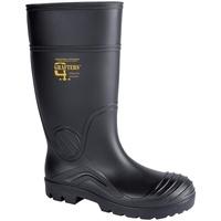 Zapatos Mujer Botas de agua Grafters  Negro