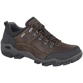 Zapatos Hombre Senderismo Imac  Marrón Oscuro