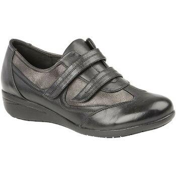 Zapatos Mujer Zapatillas bajas Boulevard  Negro/Piedra