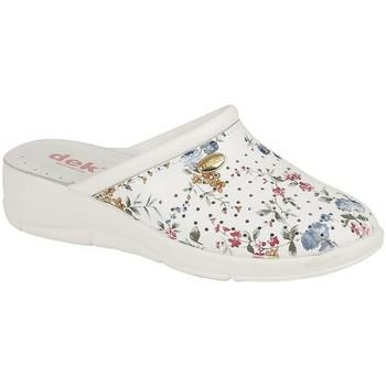 Zapatos Mujer Zuecos (Clogs) Dek  Blanco