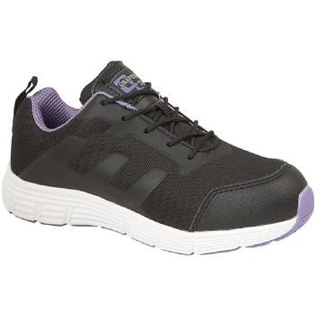 Zapatos Mujer Zapatillas bajas Grafters  Negro/Lila