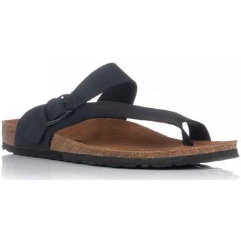Zapatos Hombre Sandalias Interbios 9511 NEGRO