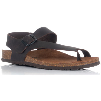 Zapatos Hombre Sandalias Interbios 9512 MOKA