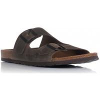 Zapatos Hombre Zuecos (Mules) Interbios 9560 MARRON