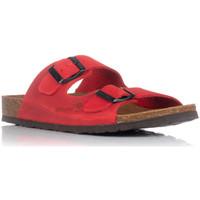 Zapatos Mujer Zuecos (Mules) Interbios 7206 ROJO