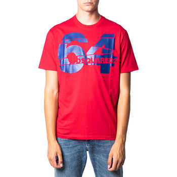 textil Hombre Camisetas manga corta Dsquared S71GD0764 Rosso