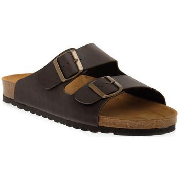 Zapatos Mujer Zuecos (Mules) Bioline MORO PREMIER Marrone