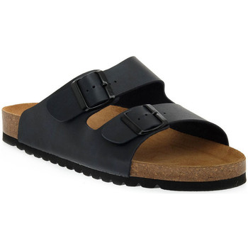 Zapatos Mujer Zuecos (Mules) Bioline 420 BLU PREMIER Blu