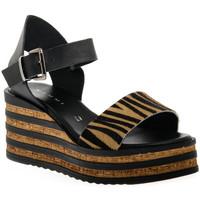 Zapatos Mujer Sandalias Sono Italiana CRAST NERO Nero