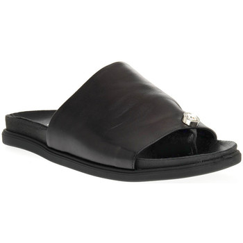 Zapatos Mujer Zuecos (Mules) Sono Italiana NAPPA NERO Nero