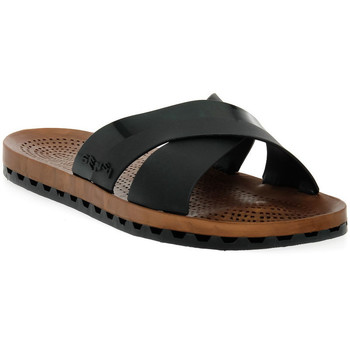 Zapatos Mujer Zuecos (Mules) Sensi 001 AMALFI NERO Nero