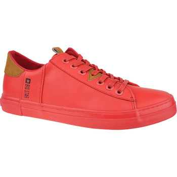 Zapatos Hombre Zapatillas bajas Big Star Shoes Big Top Rouge