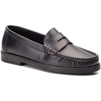 Zapatos Hombre Mocasín Marttely Design Zapatos castellanos de piel by CBP Noir