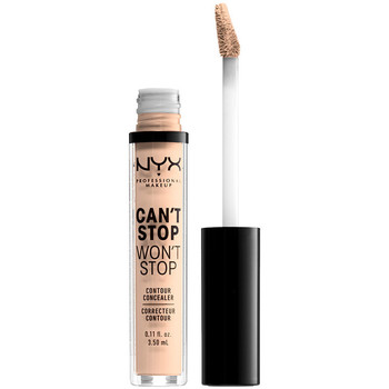Belleza Mujer Antiarrugas & correctores Nyx Can't Stop Won't Stop Contour Concealer light Ivory