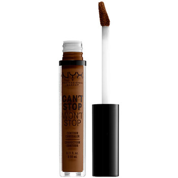 Belleza Mujer Antiarrugas & correctores Nyx Can't Stop Won't Stop Contour Concealer walnut  3,5 ml