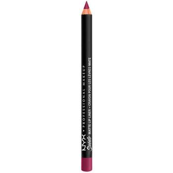 Belleza Mujer Lápiz de labios Nyx Professional Make Up Suede Matte Lip Liner girl, Bye 3,5 Gr