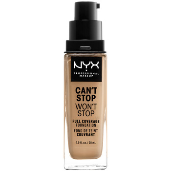 Belleza Mujer Base de maquillaje Nyx Can't Stop Won't Stop Full Coverage Foundation beige  30 ml