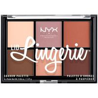 Belleza Mujer Paleta de sombras de ojos Nyx Lid Lingerie Shadow Palette 6x1,37 Gr 1 u